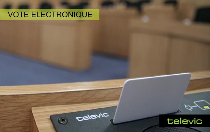 Televic - Vote électronique