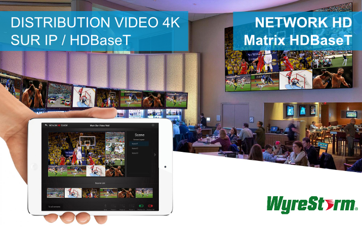Wyrestorm - HDBase T + Network HD Touch