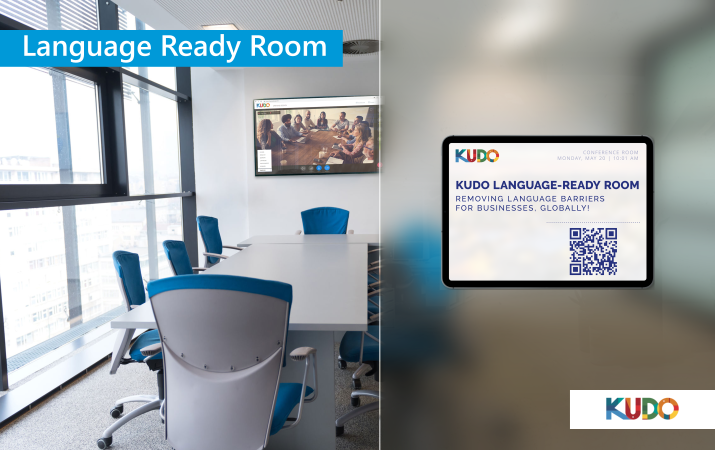 KUDO - Language-Ready Room